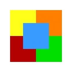 Spalvotas popierius 50lapų MIX intensyvių spalvų