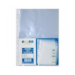 Įmautės dokumentams ELLER, A4, 40 mikr., skaidrios 10vnt.
