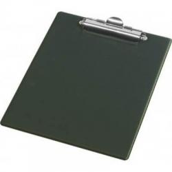 Lentelė rašymui, A5 formato, su spaustuku, juodos spalvos