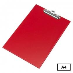 Pagrindas rašymui be atvarto, A4 raudona spalva