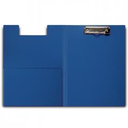 Lentelė rašymui, A4 formato, su užvartu ir spaustuku, mėlynos spalvos