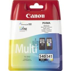 CANON kasetė/rašalo/juoda/spalvota PG-540/CL-541 Multipack