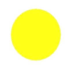 Gofruotas kartonas citrinos spalvos rulone