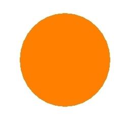 Gofruotas kartonas oranžinis rulone