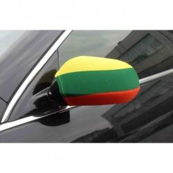 Automobilinė  veidrodeliu vėliavėlė (2 vnt.)
