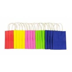 Popieriniai maišeliai 20 vnt. 24*12*31 cm., FOLIA, įviairių splavų