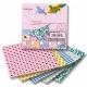 """Origami """"SWEET"""" 50 lapų 10*10 FOLIA, įvairūs motyvai"""