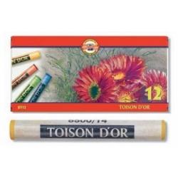 Spalvotos sausos pastelės rinkinys 8512 Koh-I-Noor, 12 spalvų