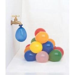 Balionai maži, įvairių spalvų vandens bombos