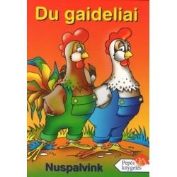 Spalvinimo knygelė JUMENA DU GAIDELIAI, A5