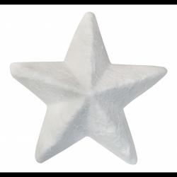 Polistirolo žvaigždė 6cm Nr.282948 Titanum
