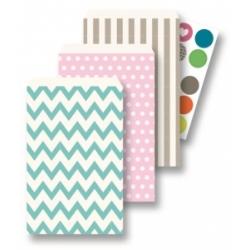 Popieriniai maišeliai 15 vnt. 13*20 cm., FOLIA, įvairių spalvų