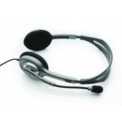 Ausinės su mikrofonu Logitech H110