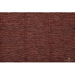 Popierius krepinis Cartotecnica Rossi 180 gr. rudos spalvos (Testa di Moro Brown)
