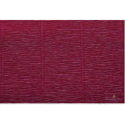 Popierius krepinis Cartotecnica Rossi 180 gr. bordinės spalvos (Bordeaux Red)