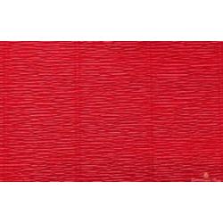 Popierius krepinis Cartotecnica Rossi 180 gr. tamsiai raudonos spalvos (Scarlet Red)