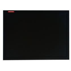 Kreidinė lenta juodu mediniu rėmu 80x60cm.