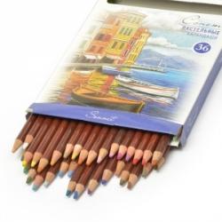"""Pastelinių pieštukų rinkinys """"SONET"""", 36 spalvų"""