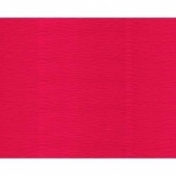 Krepinis popierius Cartotecnica Rossi 180 gr. (floristinis), vienspalvis šviesiai raudonos splavos