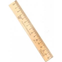Liniuotė medinė 15 cm