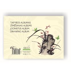 Tapybos albumas A4 40lapų 160gsm