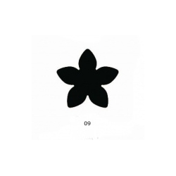 "Dekoratyvinis skylamušis Nr. 76 ""Vanilė"" 16 mm"