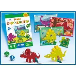 Žaidimas GRANNA Mano dinozaurai, 3-10 metų vaikams