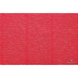Popierius krepinis Cartotecnica Rossi 180 gr. (floristinis), vienspalvis raudonos-oranžinės sp. (Red Orange)