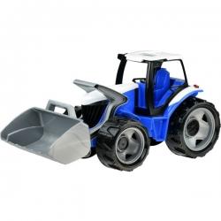"""Galingas traktorius """"Lena"""" raudonas, 62cm"""