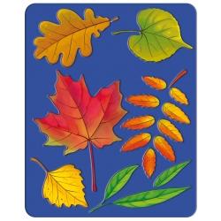 """Trafaretai piešimui LUČ, """"Medžių lapai"""""""