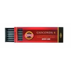 Presuotų šerdelių rinknys GIOCONDA 5,6mm 2B - 4865- Koh-I-Noor, 6 vnt.