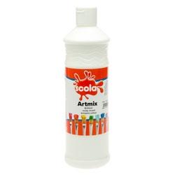 Guašas Artmix baltos spalvos 600 ml