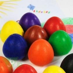 """Vaškinės kreidelės Chubbi - """"kiaušiniai"""" 8vnt."""