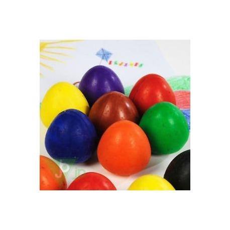 """Chubbi vaškinės kreidelės - """"kiaušiniai"""" 8vnt."""