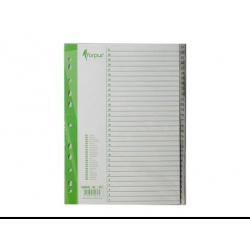 Plastikiniai skiriamieji lapai 31-1, A4