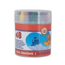 Vaškinės kreidelės Koh-I-Noor, 48 spalvų