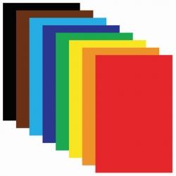 Spalvotas popierius A4, 50 lapų (Nr.99 - juoda) SPALVA - juoda