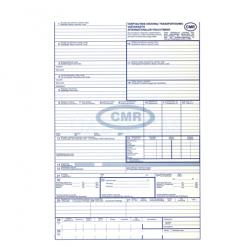 Tarptautinis krovinių vežimo važtaraštis CMR 4 lapai