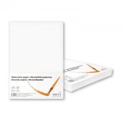 Popierius akvarelei SMLT, A3, 200 g/m2, 100 lapų