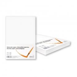 Popierius akvarelei SMLT, A4, 200 g/m2, 100 lapų