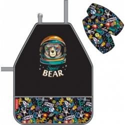 """Vaikiška prijuostė su rankovėmis """"Space Bear"""" ErichKrause"""