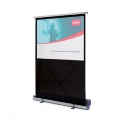 Nešiojamasis projektoriaus ekranas NOBO, 162x122 cm