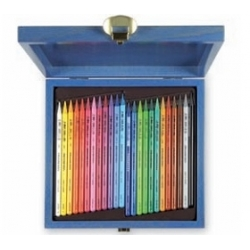 Spalvotų pieštukų rinkinys PROGRESSO, 24 spalvų Padidinti  Spalvotų pieštukų rinkinys PROGRESSO, 24 spalvų