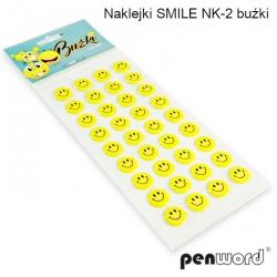 Lipdukai  Smile, 36vnt. ant lapo (Q16mm)