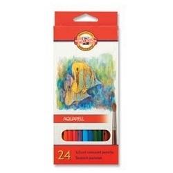Akvareliniai pieštukai Koh-I-Noor, 24 sp.