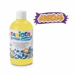 Guašas vaikams 500 ml NEON CARIOCA, ryškiai geltonos sp.