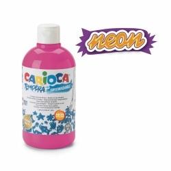 Guašas vaikams 500 ml NEON CARIOCA, ryškiai rožinės spalvos