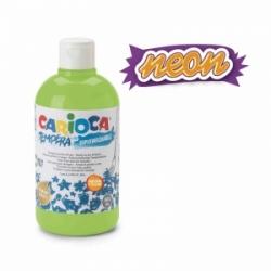 Guašas vaikams 500 ml NEON CARIOCA, ryškiai žalios spalvos