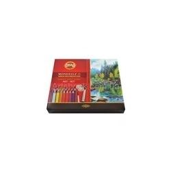 "Akvareliniai pieštukai ""Mondeluz"" Koh-I-Noor, 48 spalvų"