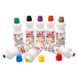 Chubbie dažų žymeklių 8 ryškių spalvų rinkinys